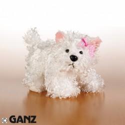 Plyšová hračka Bílý teriér